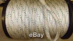 5/8 x 260' Double Braid Rope, Arborist Bull Rope, Rigging Line, Anchor Line