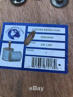 5/8 x 300' Double Braid Rope Brand NEW