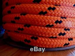 5/8 x 300 ft. Double Braid-Yacht Braid Polyester Rope. Made in USA