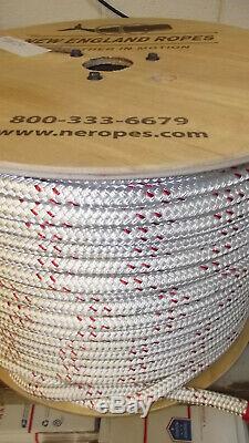 5/8 x 570' Double Braid Poly/Nylon Rope, Bull Rope, Rigging Line, Hoist Line