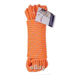 51 Block and Tackle Pulley System 11.5mm Double Braid Rope Rigging Lowering