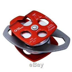 51 Block and Tackle Pulley System and 11.5mm Double Braid Rope Rigging Lowering
