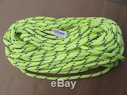 600ft X 5/8 Notch Kraken Monster Double Braid Rigging Rope 18,500lb Arborist