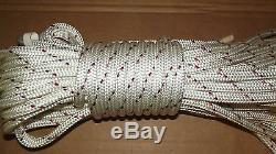 7/16 (11mm) x 147' Halyard Line, Dyneema Double Braid Line, Boat Rope - NEW