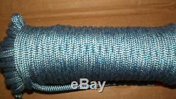 7/16 (11mm) x 89' Halyard Line, Dyneema Double Braid Line, Boat Rope - NEW