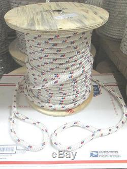 9/16 X 144' CABLE BOSS double braided Polyester cable Pulling Rope Made USA