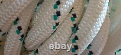 9/16 x 90 ft. Double Braid Industrial/Rigging Rope. Polyester/HMPE 18,000 lb