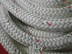 92' of 3/4 Dock Line Super Strong by Samson Rope Nylon Double Braid