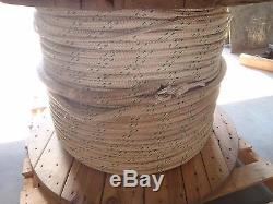 950 Ft 1 Double Braided Nylon Rope (1 Inch/ 25mm) (Line Pull) Dock Line GRN/WHT