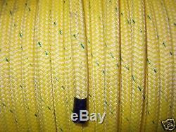 Atlantic Braid 9/16 Double Braid Arborist Bull rope