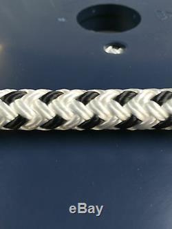 Braid on Braid Double Braid Marine Polyester Halyard Rope 12mm x 60 Metres