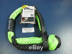 Bubba Rope Mega Gator Jaw Soft Shackle Plasma Double Braid 5/8 Recovery 176748