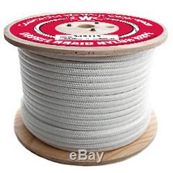 CWC Double Braid Nylon Rope 1/2 x 600 ft, White