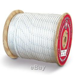 CWC Double Braid Nylon Rope 5/8 x 600 ft, White