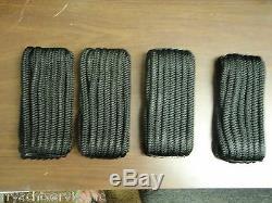 Double Braid Dock Line 5/8 X 30ft Black 50-46961 4 Pac 15 Eye Splice Boat