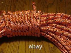 Double Braid Polyester 1/2x 150 feet arborist rigging tree rope line