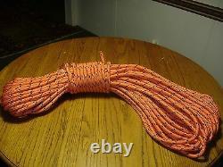 Double Braid Polyester 1/2x 200 feet arborist Blue Ox rigging tree rope line