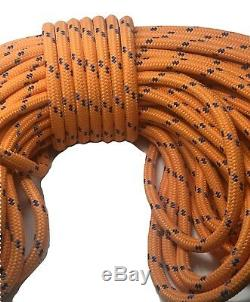 Double Braid Polyester 3/4x150 ft arborist rigging tree bull rope