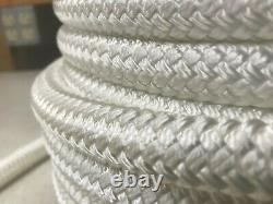 Double Braid Polyester 9/16 x 470 feet eye splice each end wire pulling rope