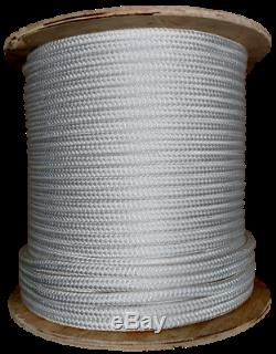 Double Braid Polyester Cable Wire Pull Pulling Rope With 6 Spliced Eyes All Sizes