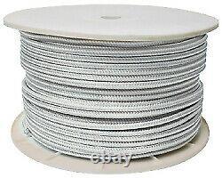 Double Braid Rope Spool, Gold/White, 3/4 X 600' Seachoice