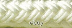 Double Braid Rope Spool, White, 1 x 600' Seachoice