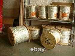 Double Braided 7/8x1200' Cable Pulling Rope (new)
