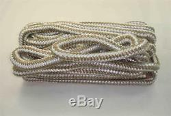 Marine Grade Double Braid Nylon Rope 5/8 x 250ft Gold for Dock Anchor Line 23001