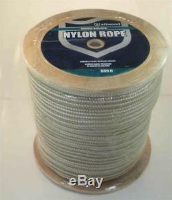 Marine Grade Double Braided Nylon Rope Gold Braid 1/2 x 600 ft 22908