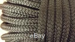 NEW 1/2 x 228' Double Braid Nylon Rope, Anchor Line, Dock Line, Boat Rope