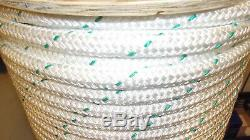 NEW 3/4 x 500' Double Braid Polyester Rope, Wire Pulling Rope, Anchor Line