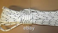 NEW 7/16 (11mm) x 290' Double Braid Rigging Line, Safety Rope, Polyester/Nylon