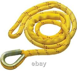 NEW ENGLAND ROPES Polyester/Nylon Double-Braid Mooring Pendants 3/4 x 15' 23200