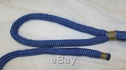 NEW Pair (2) 3/4 x 40' Double Braid Nylon Dock Line, Mooring, Anchor Rope, Boat