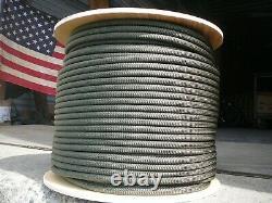 New England Maxim Apex Dynamic Rope 10.5mm x 100' Olive Drab, Double Braid Nylon