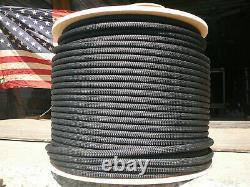 New England Maxim Apex Dynamic Rope 11mm x 150' Black, Double Braid Nylon