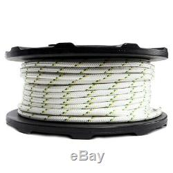 PORTABLE WINCH Winch Double braid Rope 328 ft 7275 lbs