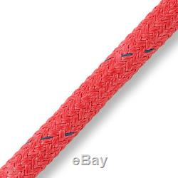 Samson 2-in-1 Stable Braid Double Braid Bull Rope, Red, 5/8 x 600