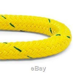 Samson 806036102060 Stable Braid Double Braid Rigging Rope, 9/16 x 200