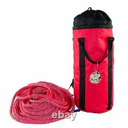 Samson, Tree Climbers Bull Rope, 5/8 x 150' Rated 16,300 Lbs, Double Braid WithBag