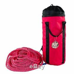 Tree Climbers Bull Rope, Samson 5/8 x 200' Rated 16,300 Lbs, Double Braid WithBag