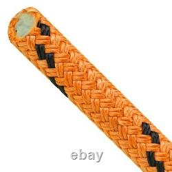 Tree Rigging Rope 7/8 X 150', Rated for 28,900 Lbs, Kraken Rope Double Braid