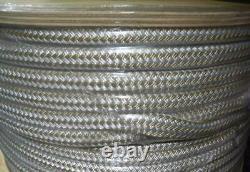 Unicord Double Braid Nylon Rope 3/4 x 600 Ft Gold Braid 27097