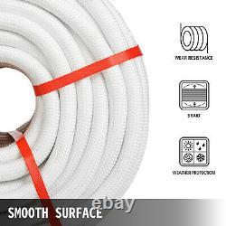 VEVOR 3/8 Double Braid Polyester Rope 300FT 8400 Breaking Strength