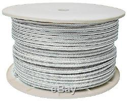 White Double Braid Rope Spool 5/8 X 600' Seachoice 47020