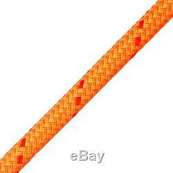 Yale Cordage 95340ZMC200XB Portland Double Braid Rigging Rope, 5/8 x 200